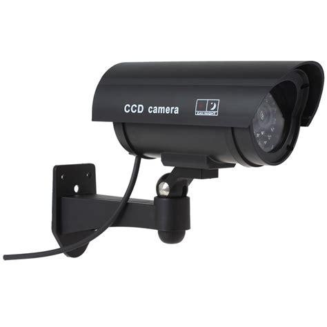 kamera cctv outdoor waterproof palsu dummy black jakartanotebook