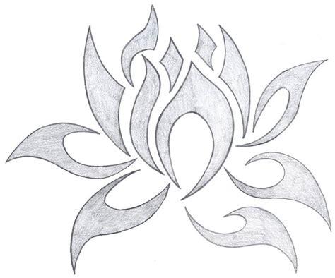 tribal lotus tattoos idea golfiancom