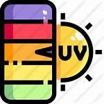 Uv Icon Icons Premium Lineal