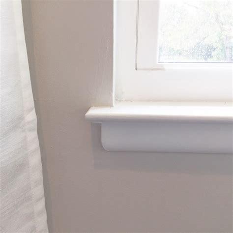 Diy Window Sill by Add Trim To Existing Window Sill Diary Of A Diy