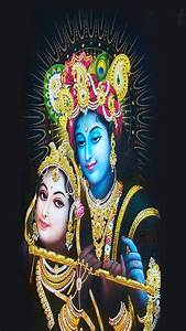 Radhe Krishna iphone 6 plus black hd wallpapers