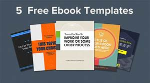 ebook template powerpoint free download 5 ebook templates With ebook cookbook template