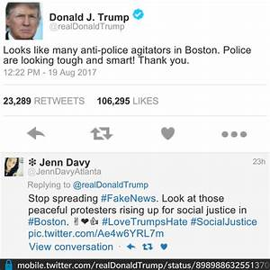 Donald Trump Bombarded With Insults By Twitter Followers ...