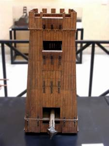 Scale Model  1 10  Of A Siege Tower  Rome  Museum Of Roman