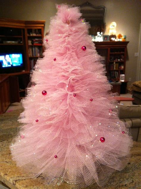 lets  crafty tulle organza christmas tree craft