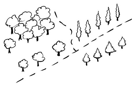 draw simple trees   map fantastic maps