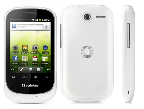 smart android vodafone launches smart android phone at rs 4995