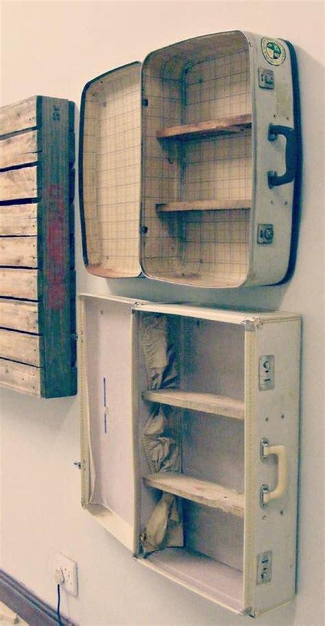 ideas  repurpose  suitcases upcycle art