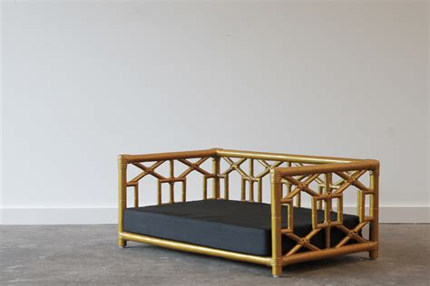dog beds naturally cane rattan  wicker furniture