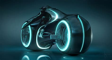 New Tron Light Cycle from Tron Legacy   Asphalt & Rubber