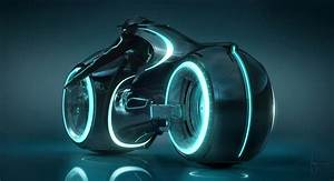 New Tron Light Cycle from Tron Legacy - Asphalt & Rubber