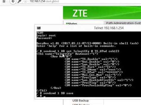 Zte ips zte usernames/passwords zte manuals. CARA MENGGANTI PASSWORD TELNET MODEM ZTE F609 - YouTube