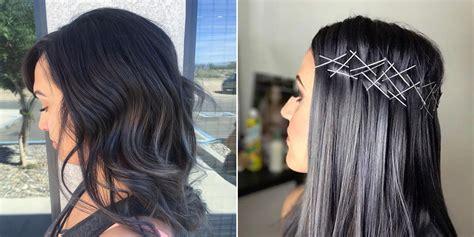 charcoal hair  trending  instagram allure