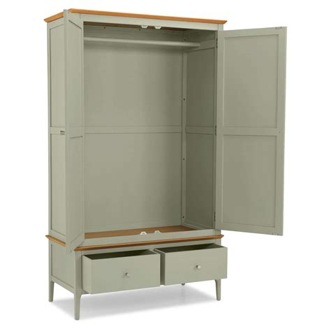 Single Wardrobe With Drawers Sale by Colista Oak Green Wardrobe With Drawers Sale