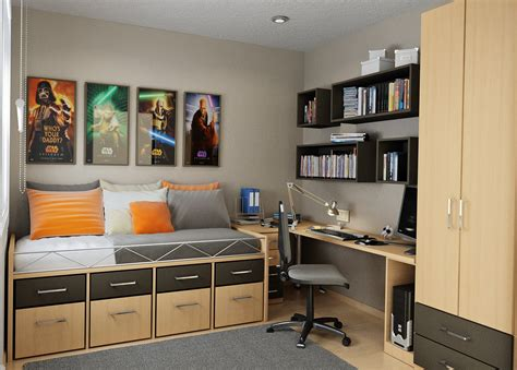 small bedroom storage solutions designed  save  space
