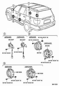 2003 Toyota Sequoia Speaker  Front   Device  That  Sound
