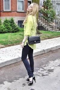 Black Genetic Denim Jeans Black Chanel Bags Chartreuse