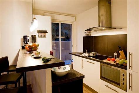 mini bar cuisine meuble de rangement dans la cuisine 25 idées