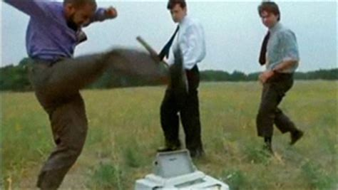 Office Space Smashing Printer by November 2010 Ars Technica