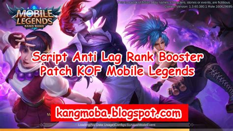 ► lag fix tool • free fire booster get you more booyah! Script Anti Lag Rank Booster Work 100% Patch KOF Mobile ...