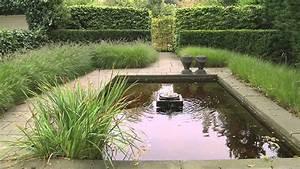 Gartengestaltung wasser in kleinen garten youtube for Garten planen mit pflanzkübel holzoptik