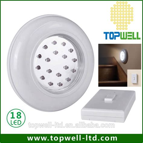 ceiling wall led light l cordless with remote