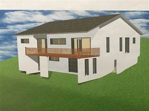 avis sur plan maison sous sol et terrain en pente 9 With plan maison terrain pente