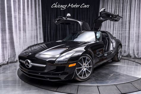 Driven 23k dealer maintained miles, this flawless. Used 2011 Mercedes-Benz SLS AMG Gullwing Coupe MSRP $195K+ BANG & OLUFSEN SOUND SYSTEM! For Sale ...