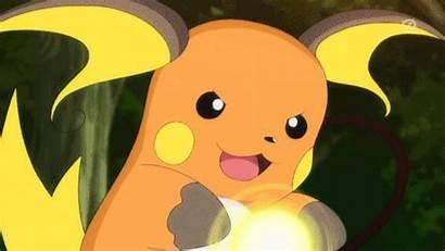 Raichu Pokemon Blast Focus Gifs Anime Gfycat