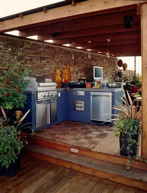 23+ Magnificent Outdoor Kitchen Ideas Layout