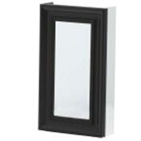 Recessed Medicine Cabinet Espresso Home Depot by Pegasus 15 In X 26 In Recessed Or Surface Mount Mirrored