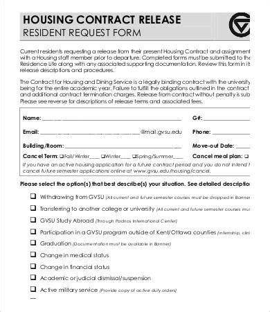 release form template   sample  format