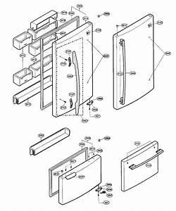 Freezer Parts Diagram  U0026 Parts List For Model Lbn22515sb Lg