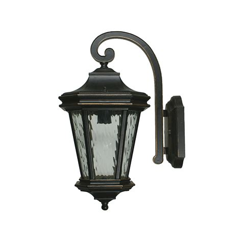 tilburn 1 light large outdoor wall light antique