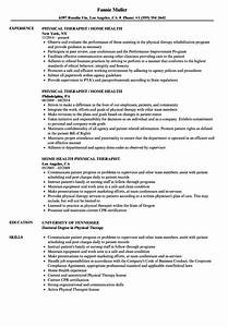 Patient Care Technician Resume Sample Home Health Physical Therapist Resume Samples Velvet Jobs