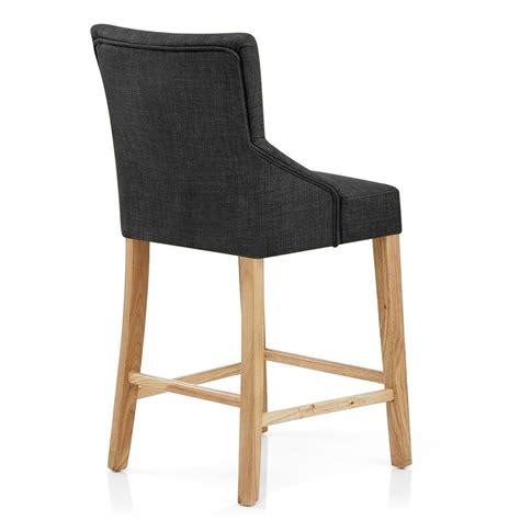 chaise bar bois chaise de bar bois tissu magna monde du tabouret