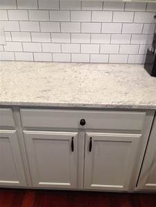 Thornapple kitchen before and after romano blanco for White subway tile backsplash with gray grout