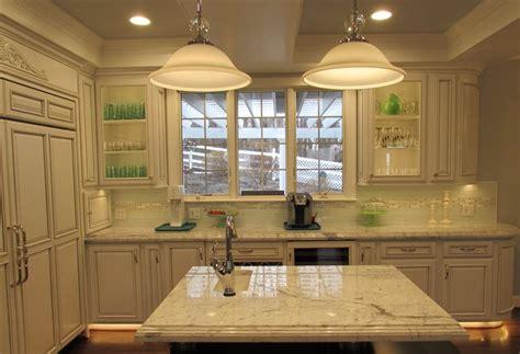 open floor plan  high  kitchen remodel  myersville