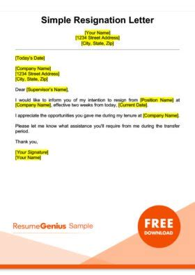 sample resignation letter mt home arts