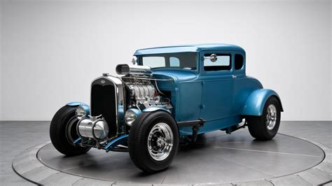 Classic Car Classic Hot Rod Engine Ford Hd Wallpaper