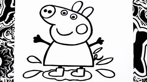 como dibujar  peppa paso  paso   draw peppa pig