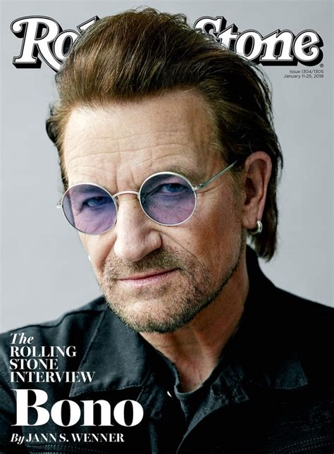 bono magazine cover 2 bono is featured on cover of new rolling