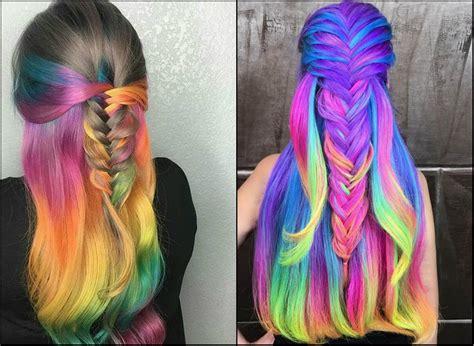 Impressive Pastel Color Braids Hairstyles You Won't Miss