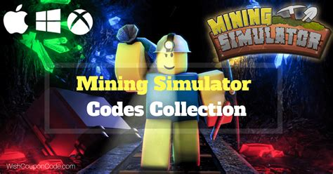 mining simulator codes collection march  earn
