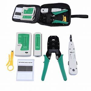 Portable Ethernet Network Cable Tester Rj45 Kit Rj45