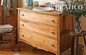 Commode Pour Salle De Bain : un meuble lavabo tr s commode salle de bain avant ~ Teatrodelosmanantiales.com Idées de Décoration