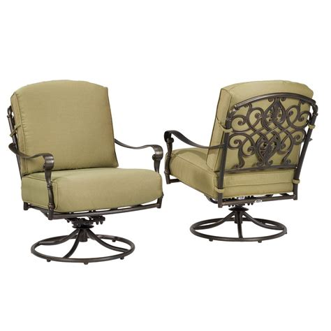 hton bay 141 034 srl1 edington swivel rocker patio