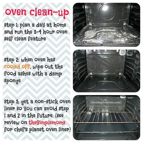 how to clean the oven time to clean up your oven saturday inspiration and tip the simple moms
