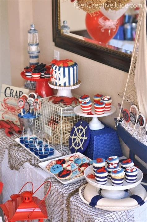 awesome nautical party ideas   shelterness