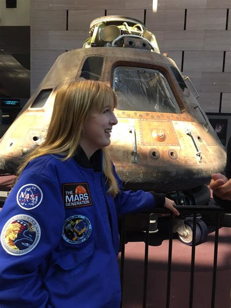 Smithsonian National Air And Space Museum Visit  Astronaut Abby